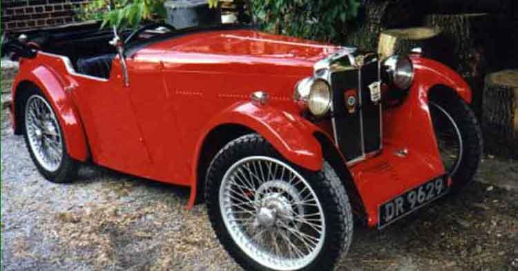 1931 MG D-type Tourer